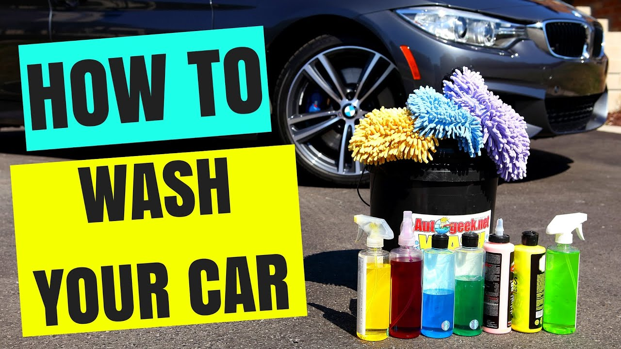 How to Wash Car at Home